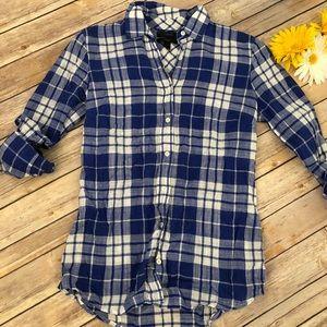 J Crew Perfect Shirt Size 0